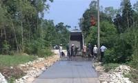 Quảng Thịnh: les habitants donnent des terres pour instaurer la nouvelle ruralité