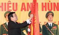 Le district Dan Phuong reçoit le titre de héros du travail