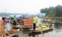 Le marché flottant du Sud à Hanoï