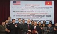 Vietnam et Etats-Unis coopèrent dans la  réparation des dommages causés par les bombes et les mines