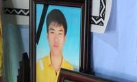 Remise à titre posthume du titre de mort pour la patrie à Trân Huu Hiêp