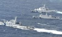 Des navires chinois dans les eaux japonaises
