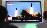Pyongyang procède à de nouveaux tirs de 16 missiles à courte portée en mer