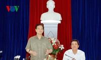 Nguyen Tan Dung : Khanh Hoa doit mettre à jour son plan de développement