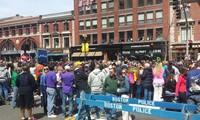 Un Américain remporte le marathon de Boston, un an après l'attentat