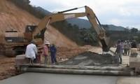 Dien Bien : la route Pom Lot-Huoi Puoc est prête