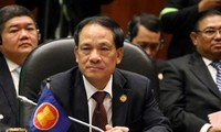 Conférence de presse sur les résultats du 24e sommet de l'ASEAN