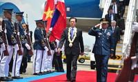 Le Premier ministre Nguyen Tan Dung est arrivé aux Philippines