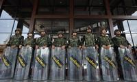 Thailande : Un millier de soldats thaïlandais dans les rues