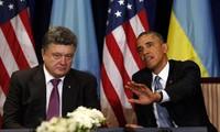 Pologne: rencontre entre Barack Obama et Petro Porochenko