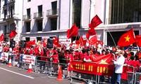 La diaspora vietnamienne en Allemagne s'oppose aux agissements chinois