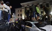 La Russie exige des sanctions contre les assaillants de son ambassade à Kiev