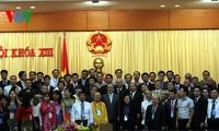 Nguyen Sinh Hung et Pham Binh Minh reçoivent le président de la FMACU