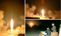 Kim Jong Un dirige un exercice de tirs de roquettes tactiques