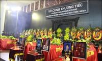Crash de l'hélicoptère Mi-171 : les funérailles des soldats