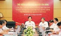 Nguyen Tan Dung pour la mise en oeuvre efficace de la loi foncière de 2013