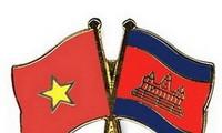 Vietnam-Cambodge main dans la main