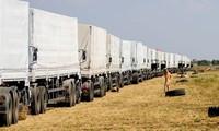 Ukraine: tous les camions russes sont repartis
