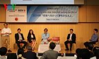 Rencontre avec les hommes d'affaires vietnamiens qui réussissent au Japon