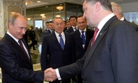 Poutine et Porochenko d'accord pour dialoguer