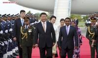 Le président chinois entame une visite d'Etat aux Maldives