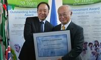 Le prix de l'AIEA sur l'innovation agricole pour le Vietnam