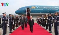 Le secrétaire général Nguyen Phu Trong est arrivé en République de Corée