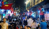 Les nouvelles rues piétonnes de Hanoï