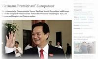Le Premier ministre Nguyen Tan Dung est arrivé à Stuttgart