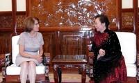 Nguyên Thi Doan reçoit la directrice de l'OIF en Asie-Pacifique