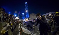 Retour de la violence  à Hongkong