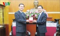 Une délégation de l'association d'amitié Vietnam-RPD de Corée à Hanoï