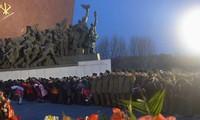 Les Nord-coréens honorent le 3ème anniversaire du décès de Kim Jong-il