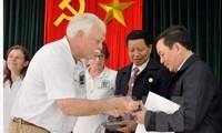 Les anciens combattants américains en visite à Quang Nam