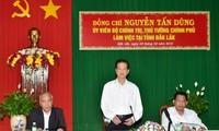 Nguyên Tân Dung: aider Dak Lak à stabiliser la vie des minorités ethniques