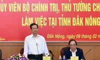 Nguyên Tân Dung appelle Dak Nông à exploiter ses atouts naturels