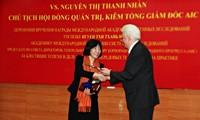 Premier prix d'IASS à une femme scientifique vietnamienne