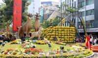 Ouverture des rues de fleurs et de bouquins à Ho Chi Minh-ville