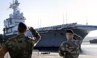 Le porte-avions Charles de Gaulle mobilisé contre l'Etat islamique en Irak
