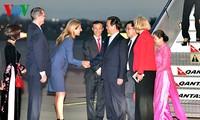 Le Premier ministre Nguyen Tan Dung arrive à Sydney