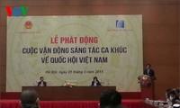 L'Assemblée nationale vietnamienne célébrée par des chansons