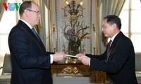 Le Vietnam et le Monaco intensifient leur coopération
