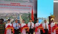 Inauguration du projet de réhabilitation du canal Tan Hoa-Lo Gom