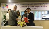 Le nouveau Campus numérique francophone partenaire de Hanoi