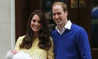 Kate Middleton a accouché d'une petite fille