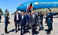 Le Premier ministre Nguyen Tan Dung est arrivé au Kazakhstan