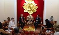 Le PDG de l'AP reçu par le président de l'Union des associations d'amitié du Vietnam