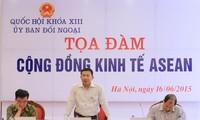 Colloque sur la Communauté économique de l'ASEAN