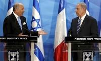Processus de paix au Moyen Orient : Israel rejette l'initiative de Paris