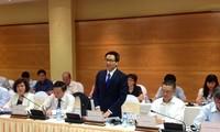 Vu Duc Dam solicite les aides étrangères pour la sûreté alimentaire
